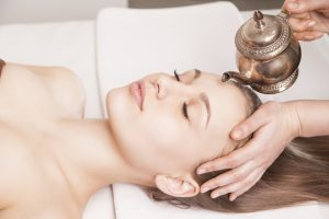 Shirodhara can be a stand alone treatment or part of Panchakarma cleansing